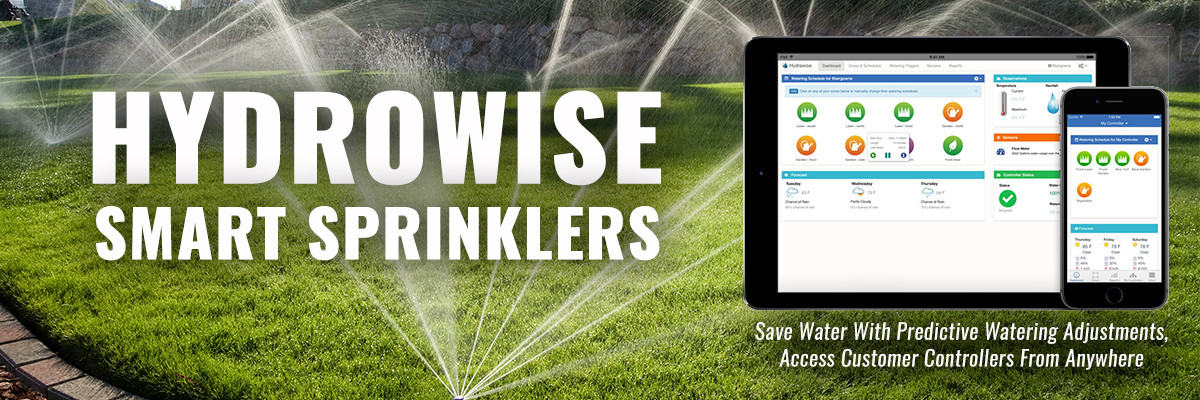 Hunter sprinkler systems.